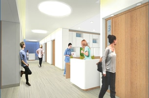 New design open work stations