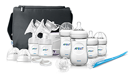Starter and gift sets for 0-6 months: Bottles, Breast Pumps, Philips Avent