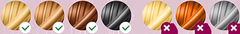 ألوان الشعر المناسبة لجهاز فيليبس الاصدار العاشر