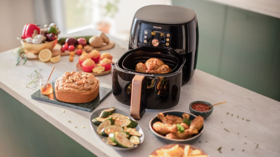 Airfryer video image